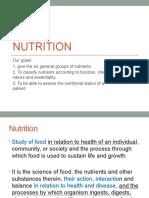 Pcare week 12 - Nutrition