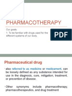 Pcare week 13 -  Pharmacotherapy