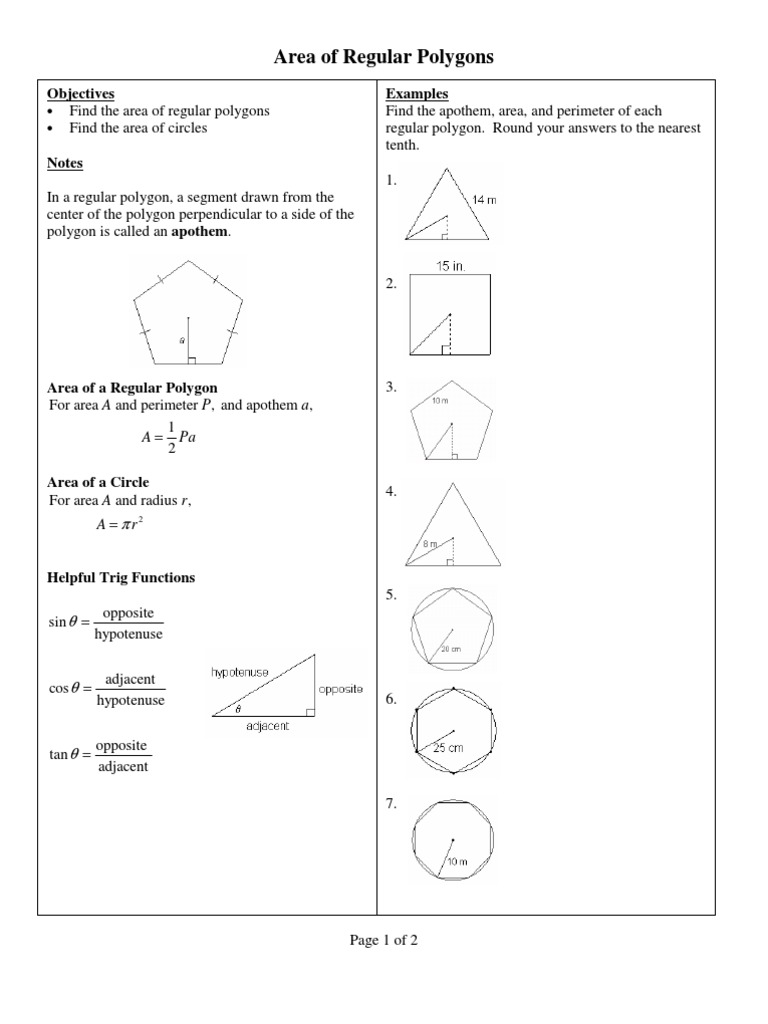 1497700294 1497700294 Area Of Regular Polygons Area And Perimeter Of Polygons  Area And Perimeter Of Polygons