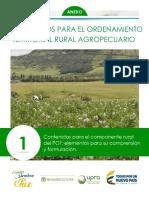5- Lineamientos para el ordenamiento territorial rural en los POT_minagricultura