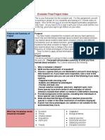 evolution graphic organizer assessment