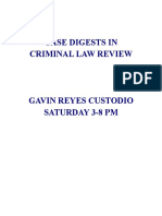 Cases Compiled