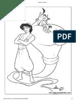 Disegni de Aladdin 7