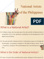 ARTS01G - Reviewer for National Artists(1)