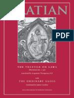 The Treatise on Laws_ Decretum - Gratian & Thompson, Augustine,_6518.pdf