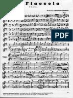 Fiaccola Polka  parte per Sax Alto e Clarinetto in Do     012