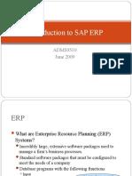 SAP Introduction ADMS3502