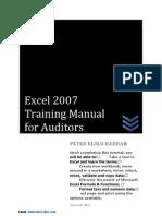 Excel 2007 Tutorial