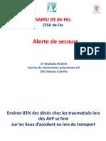 1 Alerte de Secours (22 Février 2020)
