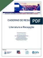 RESUMOS - LITERATURA E RECEPCAO I STD
