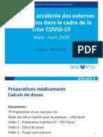 ATELIER 4 - PREPA MEDICAMENTS