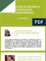 Valoración económica de servicios ecosistémicos - Introducción