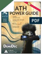 Math Power Guide