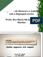 Profa Maria Sílvia Cintra_Gêneros do discurso_linguagem escrita