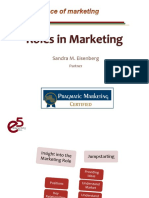 Roles In Marketing