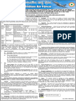Advertisemetn AFCAT 02-2020