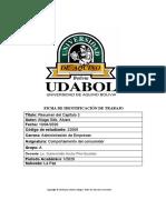 Trabajo de Comportamiento- Resumen 3