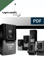 Optitools Studio User Guide Issue 1.00