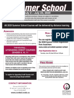 New - Summer School Flyer-June 2020