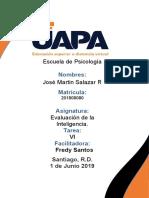 Tarea  7 D-48  Evaluacion de la Inteligencia Jose Martin Salazar