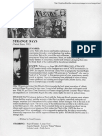 Baseline film reviews -Strange Days, Synthetic Pleasures, Toy Story