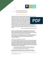 WENGER Etienne y Beverly - Breve introducción a las comunidades de práctica.pdf