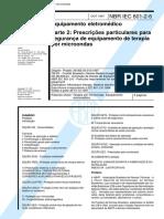 223494559-NBR-60601-2-6-Equipamento-Eletromedico-Parte-2-Prescricoes-Particulares-Para-Seguranca-de-Equipamento-de-Terapia-Por-Microondas.pdf