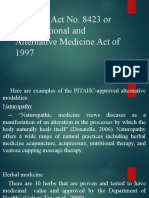 Health 1stGP - Alternative&Traditional Medicine.pptx