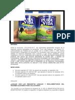 Informe Caso Pura Vida Melissa Canazas Solier