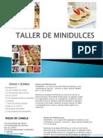 TALLER DE MINI DULCES PARA PRINCIPIANTES