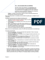 TD - Principes de marketing y notes publicité