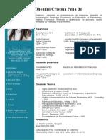 CV Jhoanny Cristina Pena - Actualizado