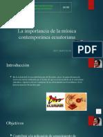 La Importancia de La Música Contemporánea Ecuatoriana10MO