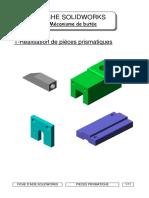 1-aide solidworks-pièces prismatique
