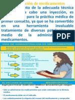 Administración de medicamentos para presentacion en clases