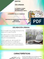Delineación Urbana