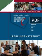 HVC Leerlingenstatuut 2009