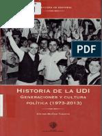 Víctor Muñoz Tamayo__Historia de La UDI