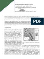 Caracterización geomecánica del macizo rocoso previa a la co