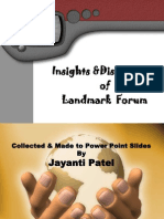 Forum Insights & Distinctions-jayanti Patel