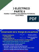 MUNDO ELECTRICO CONCEPTOS Y EJEMPLOS DE ENERGIA POTENCIAL ELECTRICA PARTE II