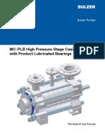 MC PLB High Pressure Stage Casing Pump brochure