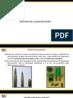 Estudio de las municiones.- Cruz Pérez Rafael David