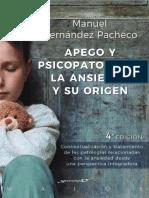 APEGO Y PSICOPATOLOGIA, LA ANSIEDAD Y SU ORIGEN