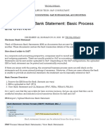 SAP Electronic Bank Statement_ Basic Process and Overview – Techlorean_