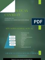 ESTADISTICAS DE COVID -19