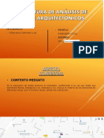 Estructura de análisis - Arquitectura