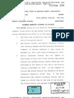 Frazier Claiborne Divorce Amended Judgment
