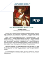 Benoit XIV_Providas Romanorum