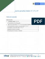1. Guía del usuario Saber 359